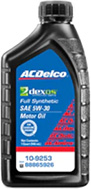 ACDelco Full Synthetic Oil